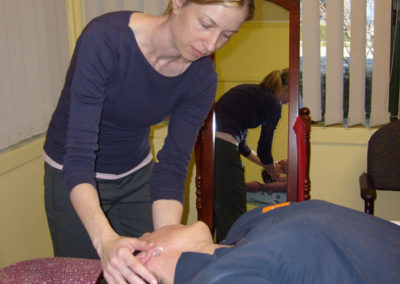 Neck treatment at Somerville Physiotherapy