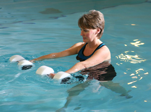 Somerville Physio Hydrotherapy session